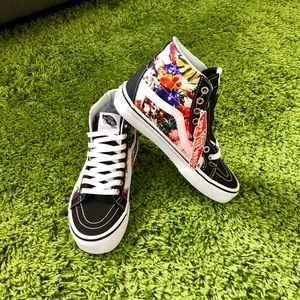 🆕 VANS Sk8-Hi Reissue Cuban Floral Hi Top Shoes 5